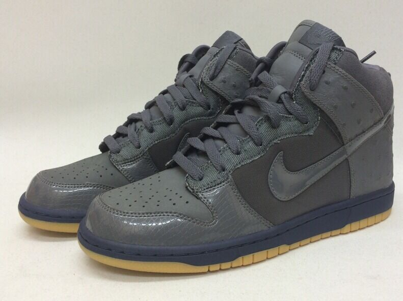BNIB DS Men's Nike Dunk High Deluxe MITA Sneakers Sz 8 Ostrich Japan Only