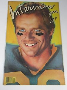 interview magazine fred dryer front cover vol xi no 1 1980 andy warhol