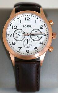 5dc21d3005d2 La imagen se está cargando Fossil-BQ2374-Reloj-de -Hombre-Flynn-Piloto-Cronografo-
