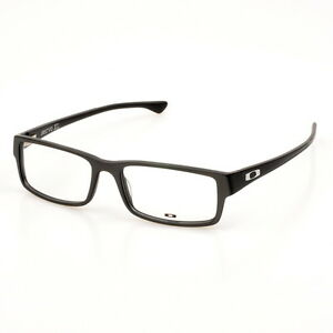 Glasses Frames Large Sizes : Glasses Frames-Oakley Servo XL OX1066-0557 Satin Steel ...