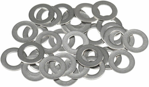 WHISKY Stainless .3mm Spoke Nipple Washers Bag of 34
