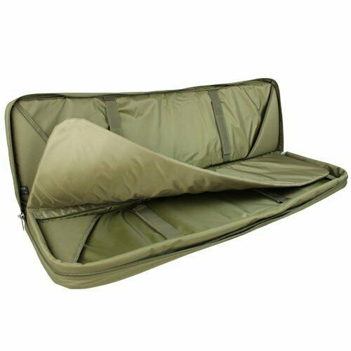 """CONDOR 42 /""""Double Tactical Military Koffer MOLLE Gepolsterte Jagdtasche Olive"""
