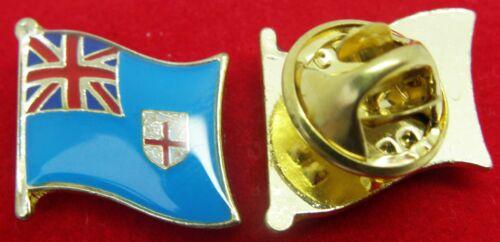 Fiji Flag Lapel Hat Tie Pin Badge Matanitu ko Viti Fijī Gaṇarājya Suva Brooch