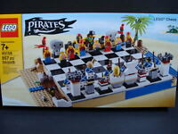 Lego Pirates Chess Set 40158 Bluecoats 20 Minifigures Game Board 857pcs