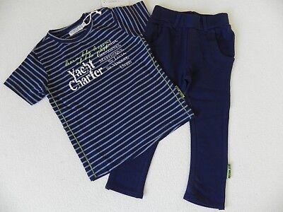 Dirkje T-shirt + Pantaloni Leggings 2-divisorio Tuta Tg. 80 12m Nuovo- Moda Attraente