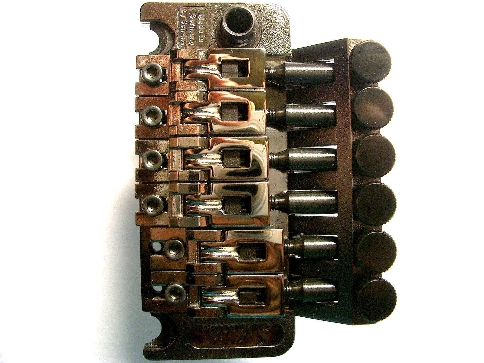 Schaller Floyd rosa Tremolo Rutenio, R2, 42mm Blocco