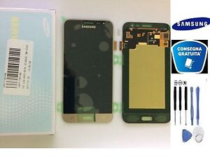 DISPLAY-LCD-TOUCH-SCREEN-ORIGINALE-SAMSUNG-GALAXY-J3-2016-SM-J320FN-GOLD-KIT