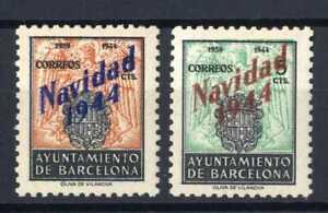 Sellos-Ayuntamiento-Barcelona-Navidad-1944-NE-25-26-nuevos-sin-charnela