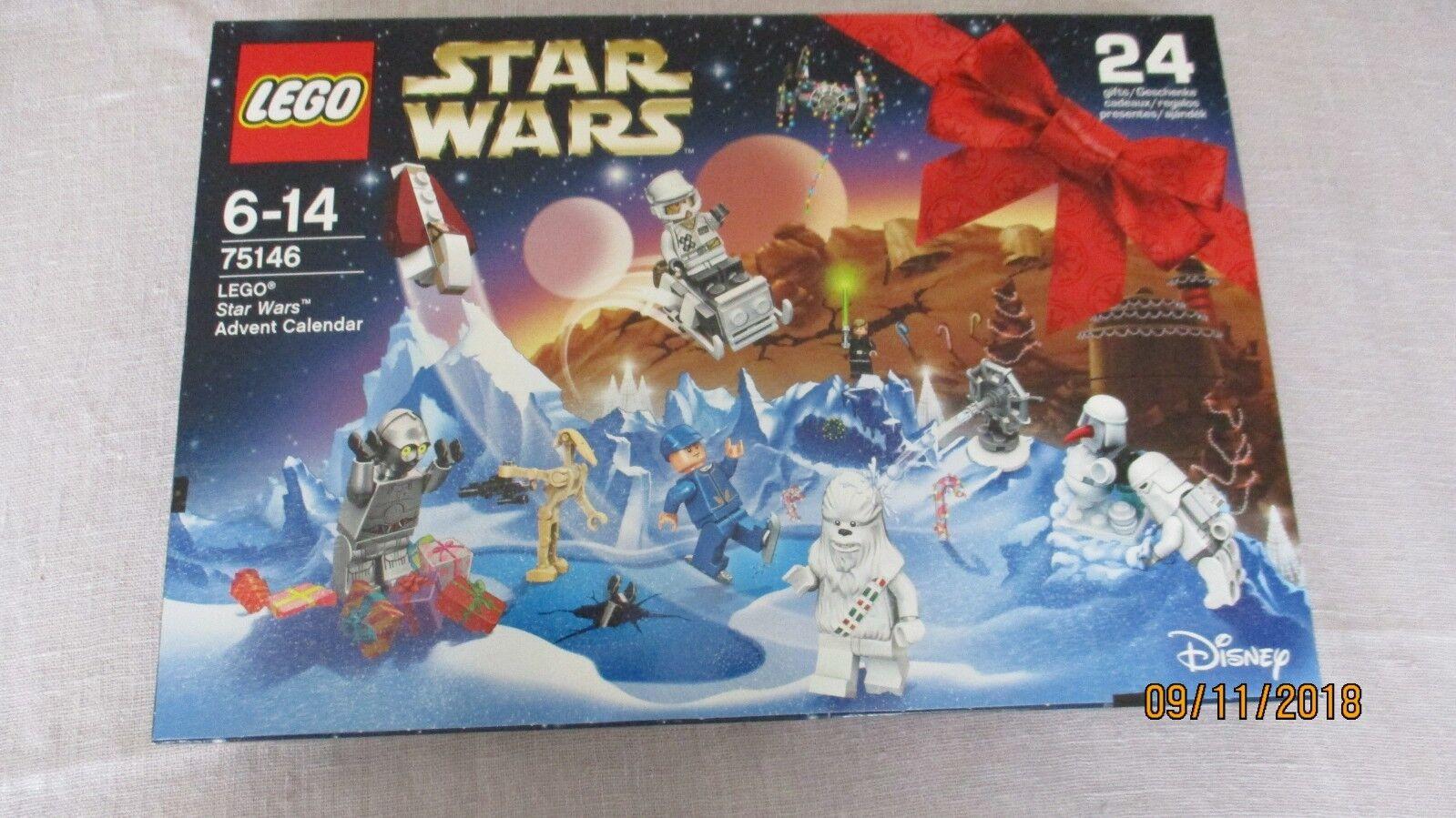 Nqeiad3343 L'avent Wars De Neuf Lego Star 75146 Calendrier qc4jL35AR