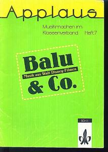 Balu-amp-Co-Musik-aus-Walt-Disney-Filmen-Musikmachen-im-Klassenverband-Heft-7