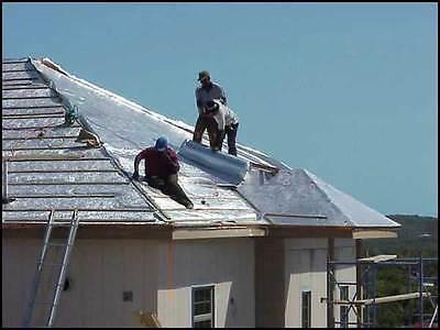 1000 sqft 4x250 Reinforced Vapor Barrier Encapsulation Pier Wrap Crawlspace Roof