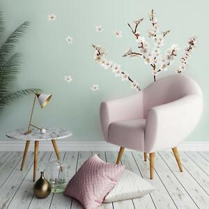 26 Dogwood Flowers Wall Decals White Flowers Stickers Floral Tree