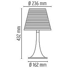 Anden bordlampe, PS Design