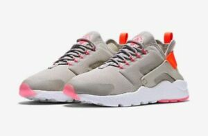 big sale fb599 2f859 WMNS Nike Air Huarache Run Ultra Grey Pink Womens Running Shoes 819151-002 6