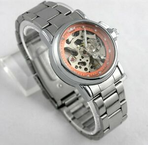 New-Skeleton-Automatic-Mechanical-Stainless-Steel-Diamond-Women-Lady-Wrist-Watch