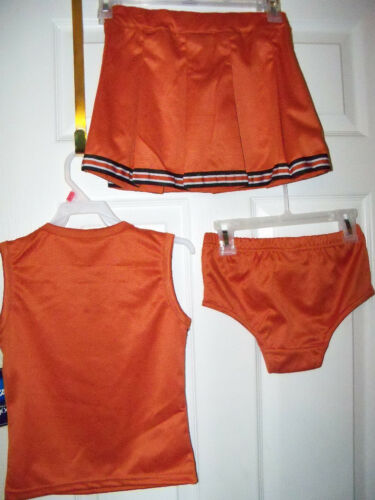 Texas Longhorns 3 Piece Cheerleader Outfit Toddler Girls Size 18 Months NWT  #15