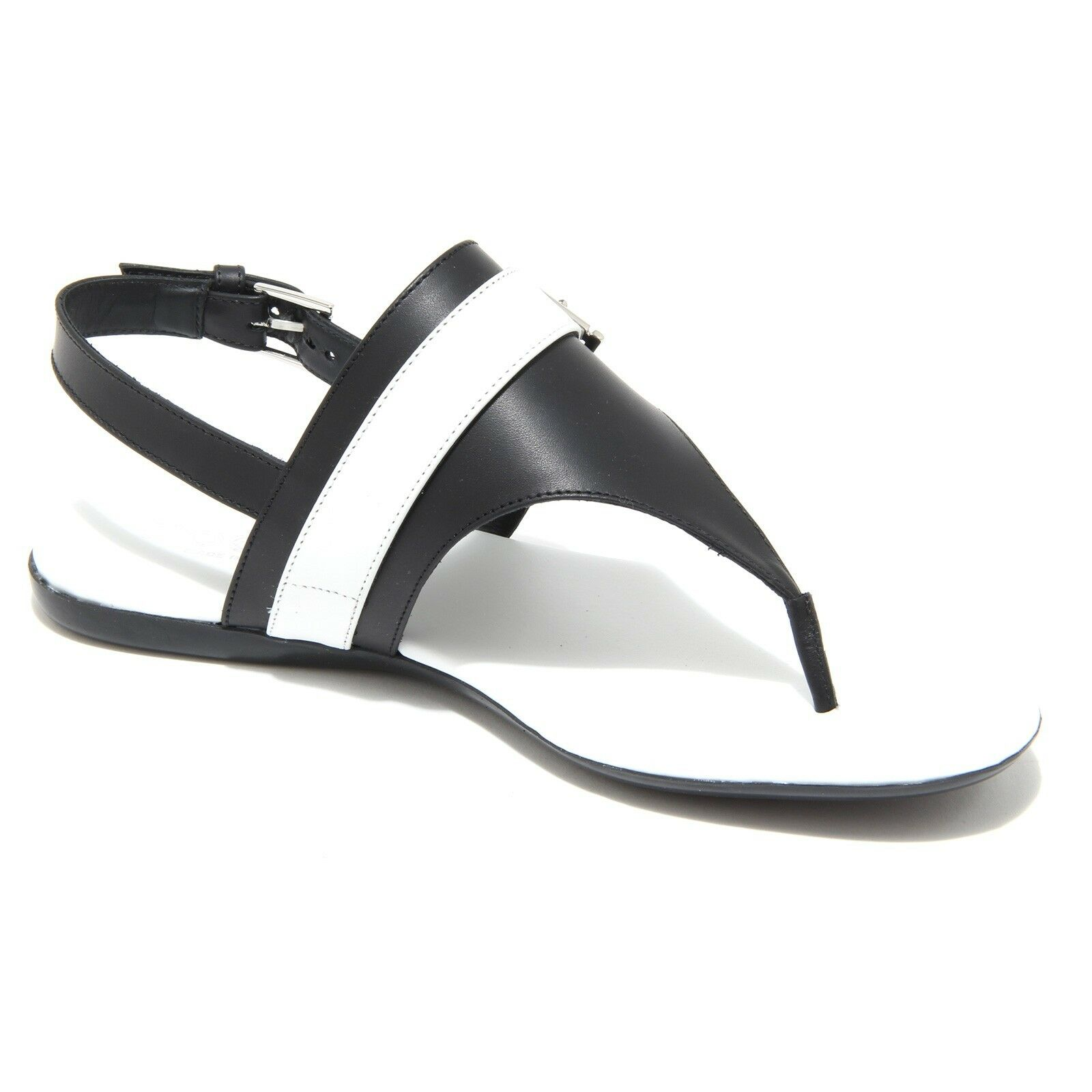 7964I infradito donna nero HOGBN valencia scarpe shoes flips-flops shoes women