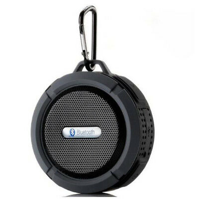 Portable Waterproof Wireless Bluetooth Speaker With Handsfree Suction Cup C6 New