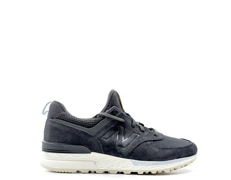 shoes New Balance Woman black FABRIC, SUEDE ws574pmd