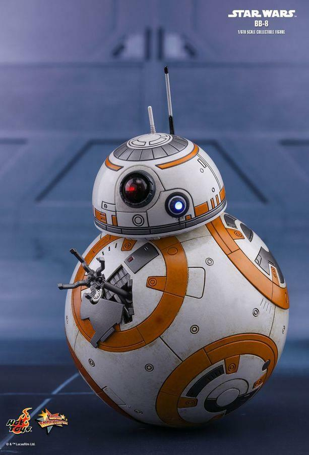 Star Wars Episode VIII The Last Jedi BB-8 1/6 Scale Hot Toys Figure