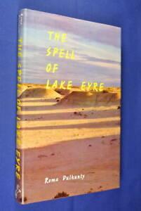 THE-SPELL-OF-LAKE-EYRE-Roma-Dulhunty-SIGNED-BOOK-Australian-History-hcdj