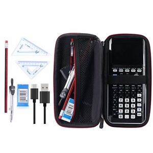 Carry Hand Storage Case Bag Pouch For Texas Instruments TI-84 Plus CE Calculator