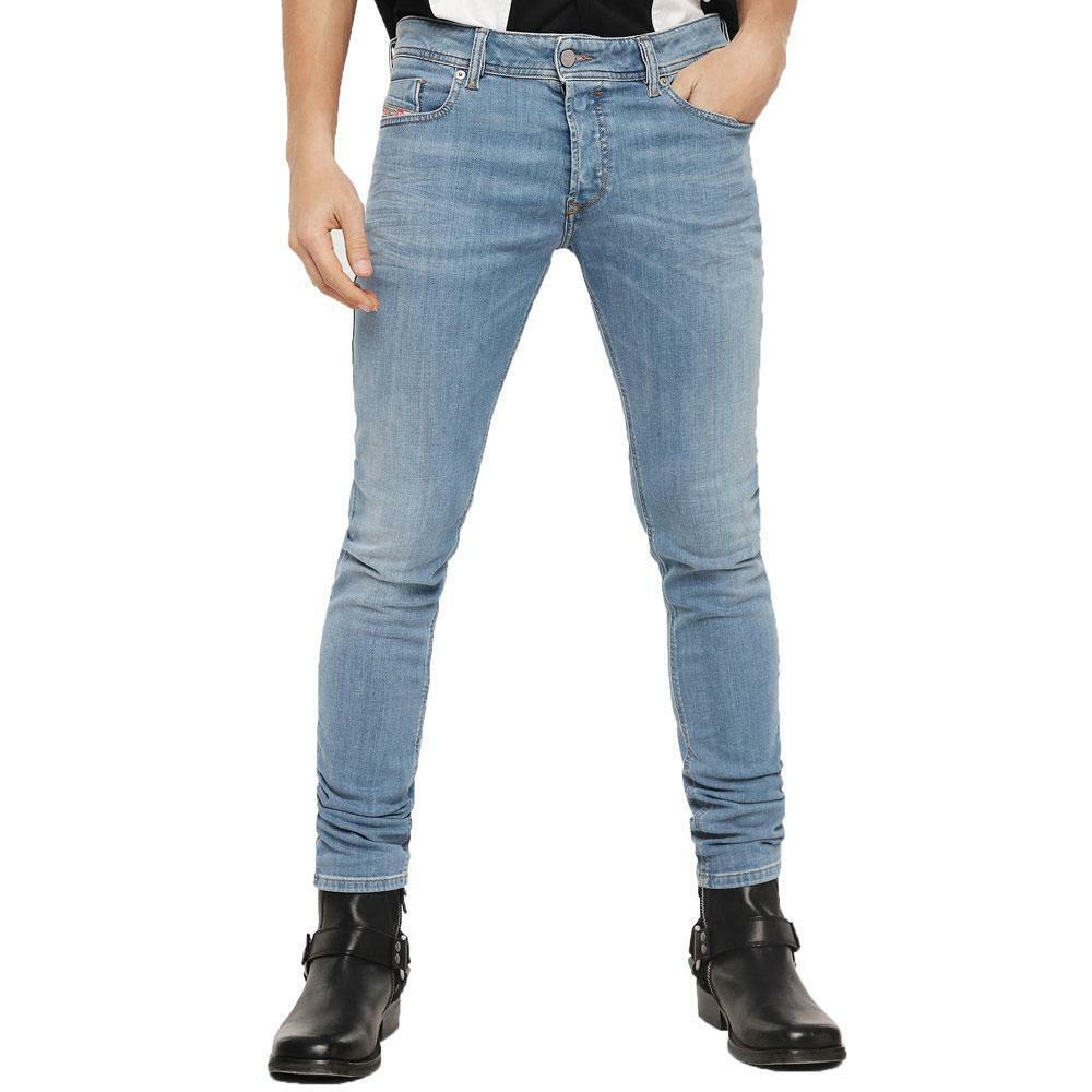 Diesel Sleenker 086AK Jeans Skinny  Fit en azul-ligera de lavado  Descuento del 70% barato