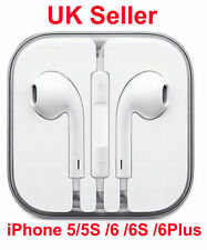 New Earphone for Apple iPhone 6 /6 Plus /5 /5 EarPod Headphone With Mic UK selle