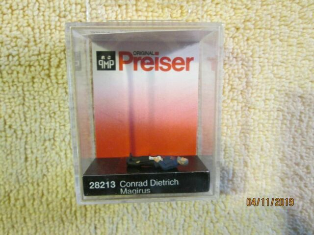 Preiser 28213 H0 Conrad Dietrich Magirus