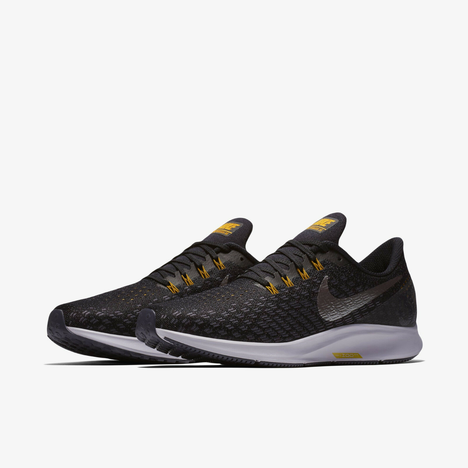 Nike Air Zoom Pegasus 35 942851-013 942851-013 942851-013 nero Metallic Grid Iron Uomo Running scarpe c1464b