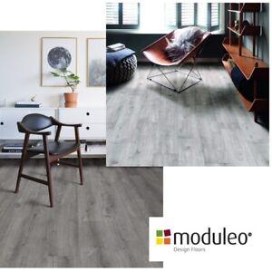MODULEO Trade Waterproof Vinyl Click Planks Grey Oak Wood ...