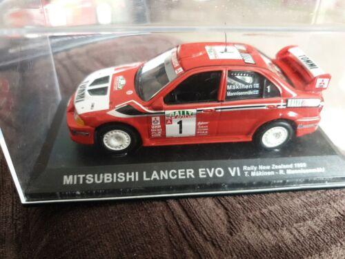 DeAGOSTINI Mitsubishi Lancer Evo VI Rallye Voiture excellent état