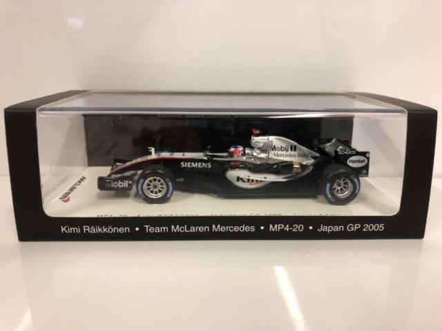 Kimi Raikkonen Mclaren Mercedes MP4-20 Japón 2005 Spark 1:43