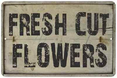 FRESH LEMONADE Vintage Look Rustic Metal Sign Chic Retro 106180035147