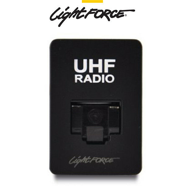 LIGHTFORCE RJ45 UHF RADIO PASSTHROUGH TO SUIT FORD RANGER FASCIA SWITCH PANEL