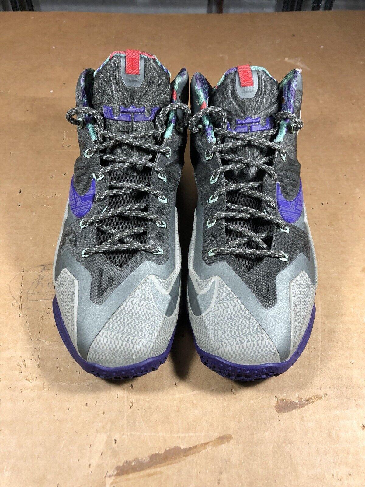 100% Authentic Nike Lebron 11 Terracotta Warrior Size 11.5 616175 005