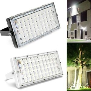 Details About Led Flood Light 50w Ip65 Waterproof Outdoor Garden Super Bright Security Lamp