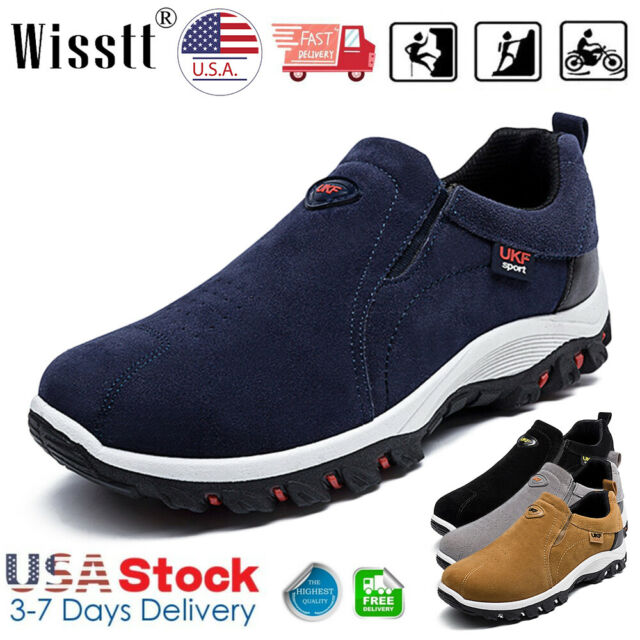 New Original Men/'s Hiking Shoes Slip On Casual Sport Outdoor Athletic Shoes Size