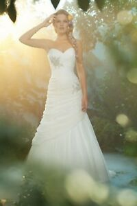 NWT-Alfred-Angelo-221-Size-12-Fairy-Tale-Weddings-034-Ariel-034-mermaid-tulle-bridal