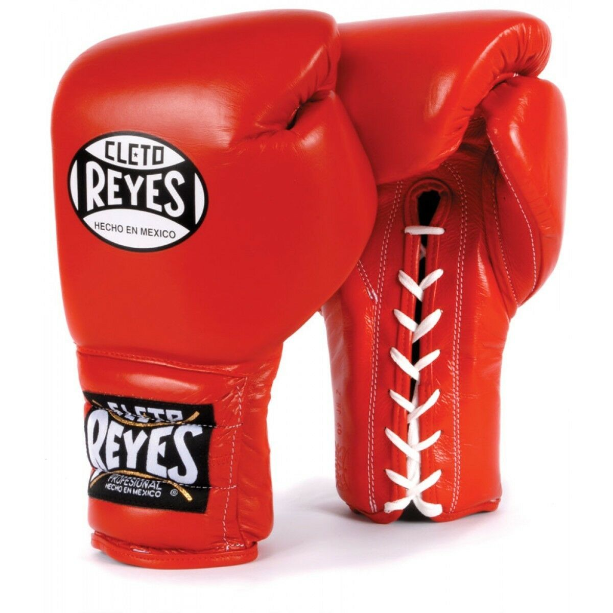 FREE Cleto Up Reyes Boxing Gloves Traditional Lace Up Cleto Training Gloves ROT 5d2804