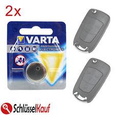 2x VARTA Autoschlüssel Batterie für Opel Astra H Corsa D Signum Vectra Zafira