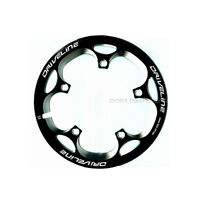 Driveline Crank Chain Guard Road Bike 53t Bcd 110 Black