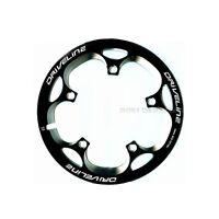 Driveline Crank Chain Guard Road Bike 53t Bcd 110 Black