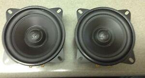 1-Pair-NEW-Old-School-Clif-Designs-4-034-Midbass-Speaker-Rare-Vintage-NOS-midrange