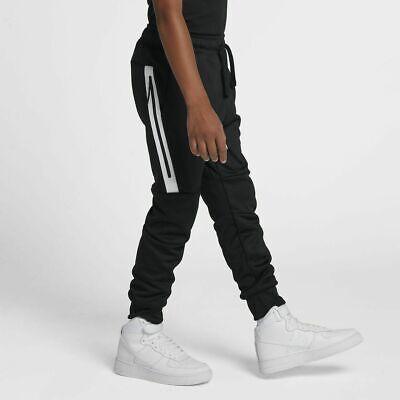Jungen Nike Tech Fleece Hose Jogginghose Größe S (8 10 Jahre) ar4019 010 schwarzweiß   eBay