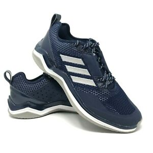 timeless design 86992 77131 Details about Adidas Men's Running Cross Training Shoes Blue Mesh SPG753001  2017 Size 8.5