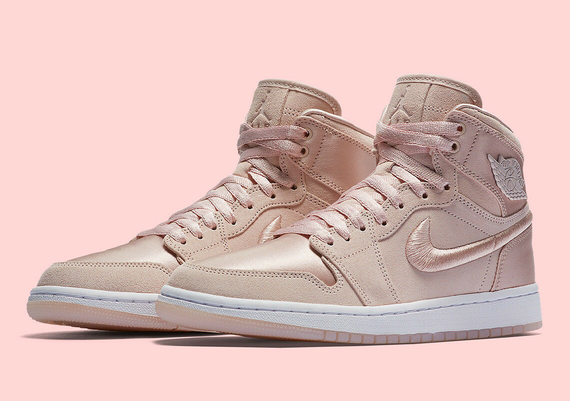 2018 WMNS Nike Air Jordan 1 Retro High SOH SZ 9 Silt Red NRG OG AO1847-650