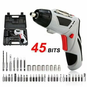 45-in-1-Power-Wireless-Tool-Rechargeable-Cordless-Electric-Screwdriver-Drill-Kit