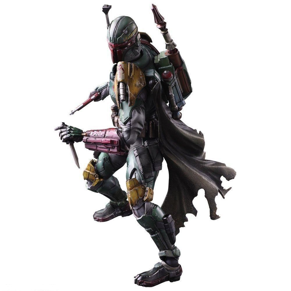 Square Enix STAR WARS VARIANT PLAY ARTS Kai Boba Fett PVCpainted JAPAN F S J6307