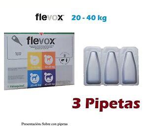 Pipetas-Perro-20-40Kg-Anti-Pulgas-Garrapatas-Fipronilo-FLEVOX-2-68ml-pipette